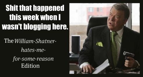 shatner is not pleased