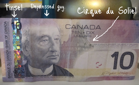 Canadian money is pretty much useless | The Bloggess