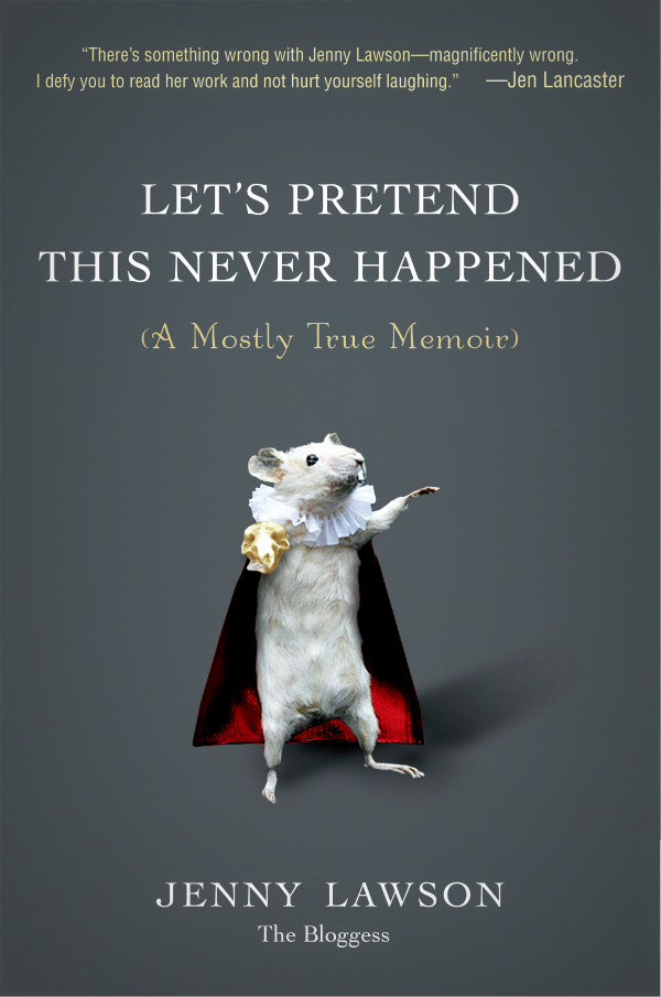 Image result for let's pretend this never happened book cover