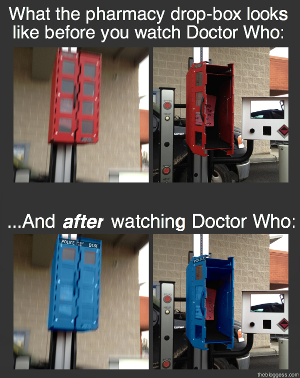 2553a343d686 Watching Doctor Who is like learning a strange new language you can ...