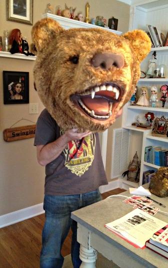 Bear Gives Amateur Head