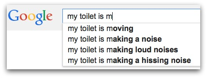 hauntd toilet