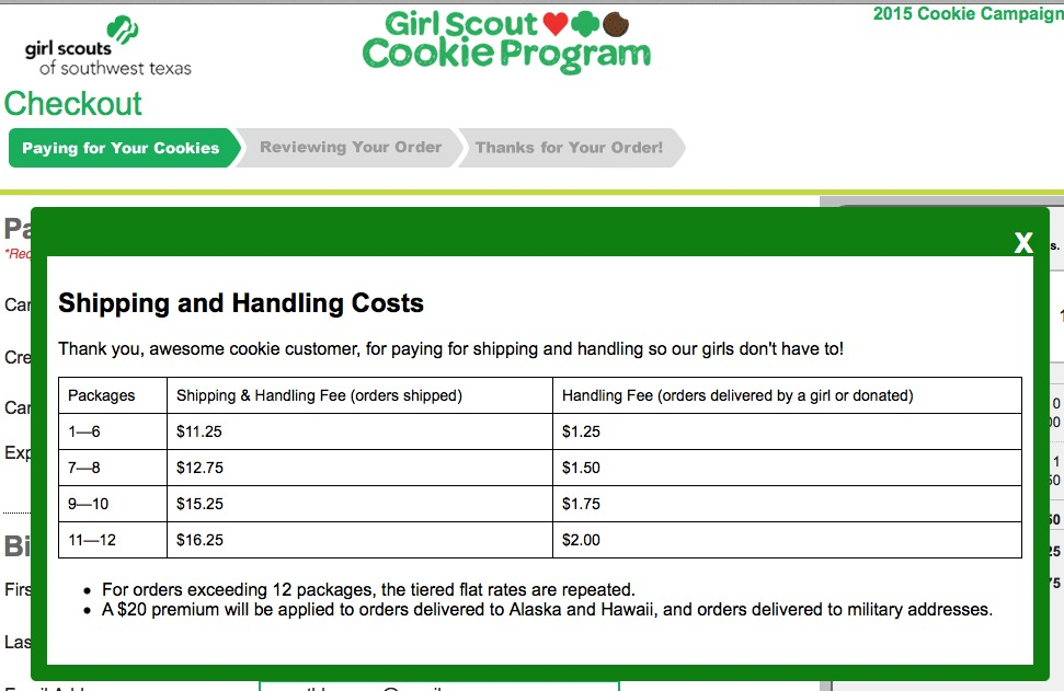 picture regarding Girl Scout Cookie Thank You Note Printable titled An open up letter in direction of the Woman Scouts: Current (Once again) The
