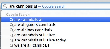 are cannibals al