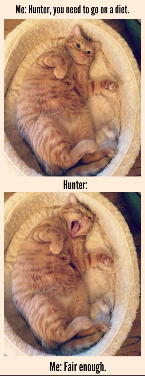 If Hunter was Kathy