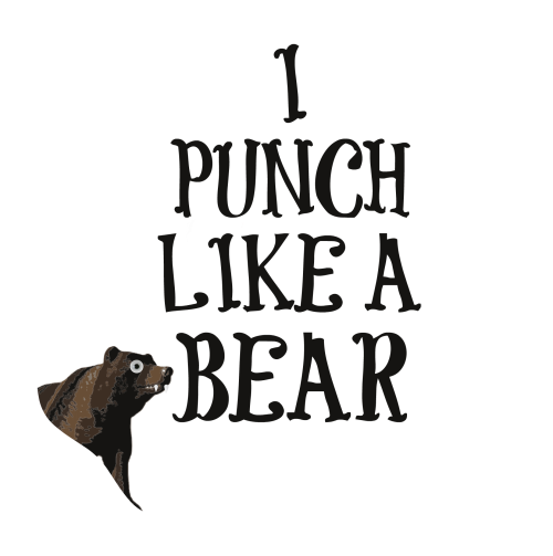 punch like a bear
