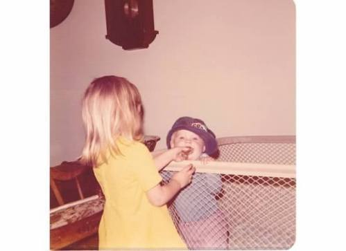 I'm the blonde. That lasted 5 years until my body remembered it was slavic.