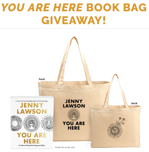 You are Here book bags! (They're free. FREE! Get one quick.) | The ...