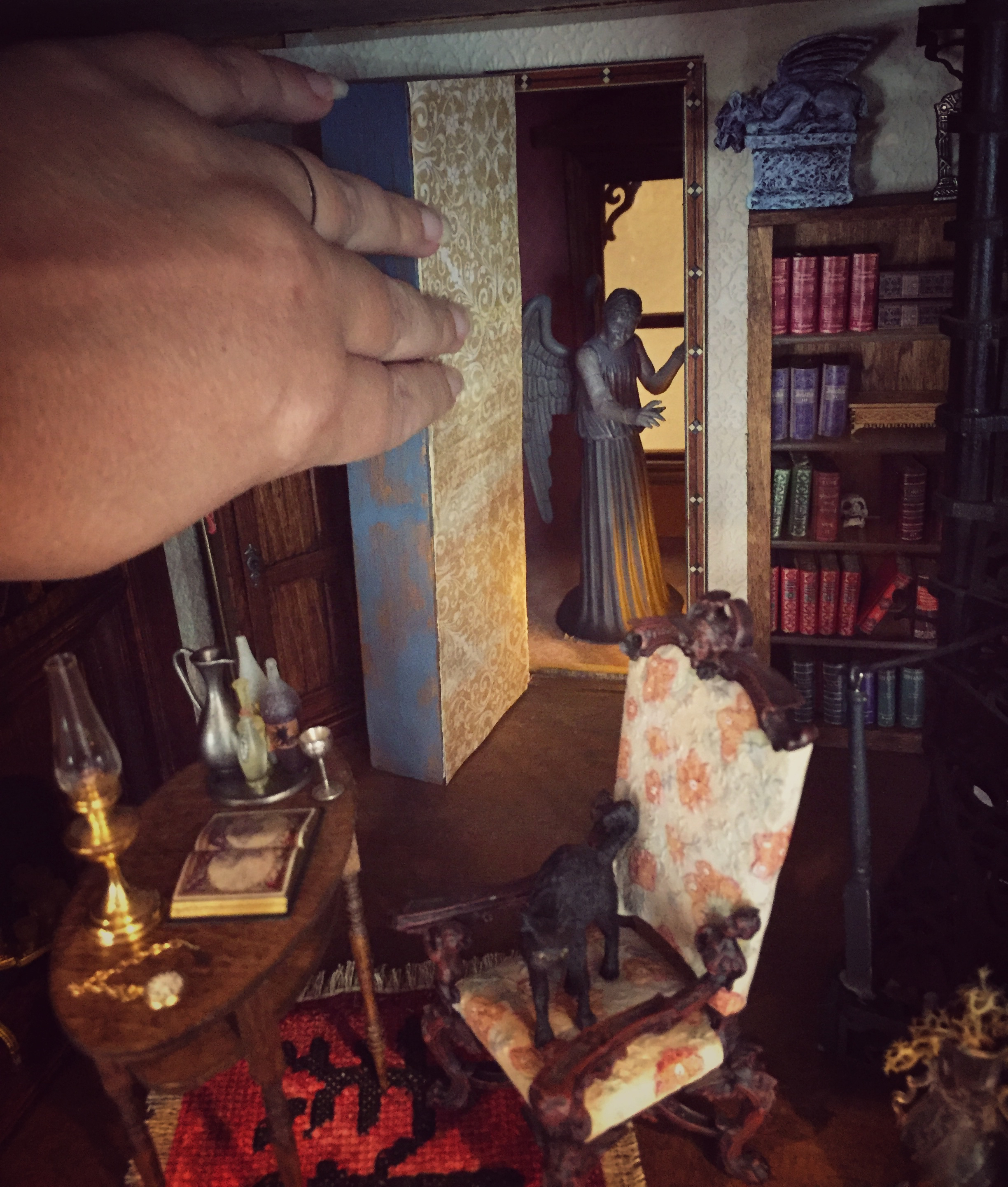 Haunted Dollhouse Part 3 The Bloggess