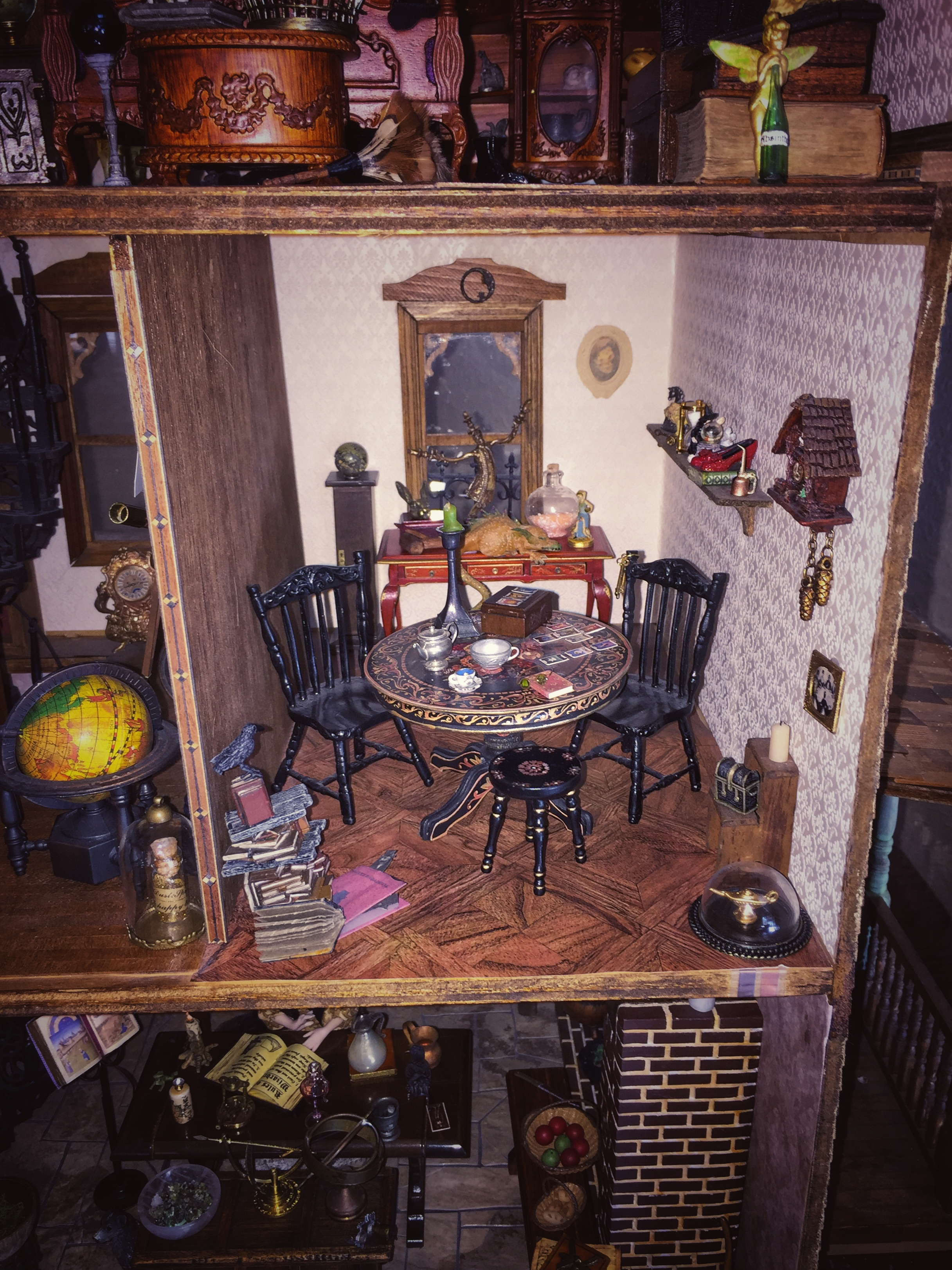 Haunted Dollhouse Part 2 The Bloggess