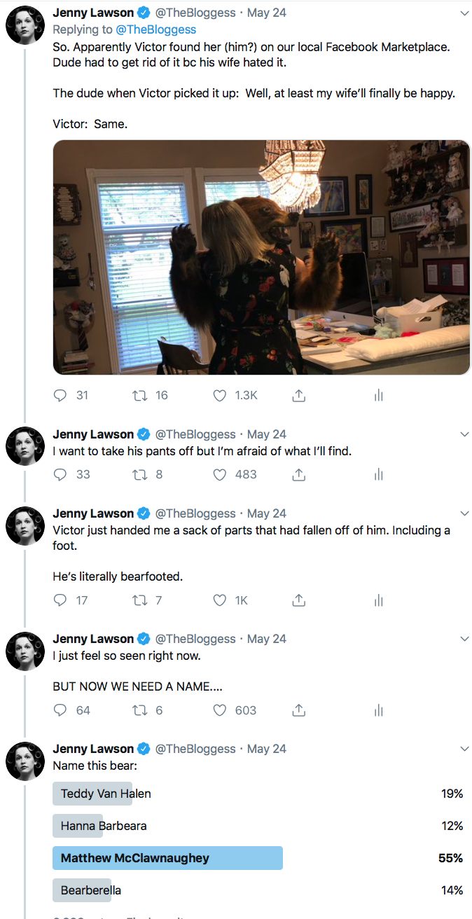 788ede24 This weekend I made a new friend and live-tweeted it and it was glorious  and terrifying: